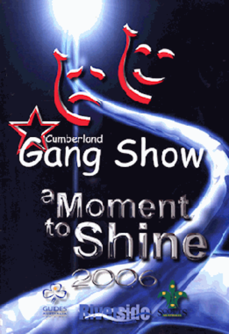 Gang Show - Cover of the 2006 Cumberland, Australia, Gang Show program