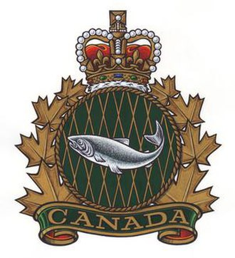 Fisheries and Oceans Canada - Fishery Officer heraldic badge