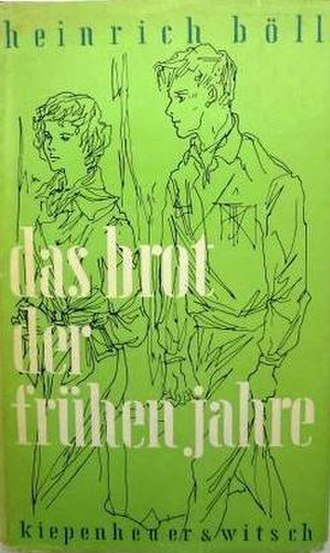 The Bread of Those Early Years (novel) - First edition