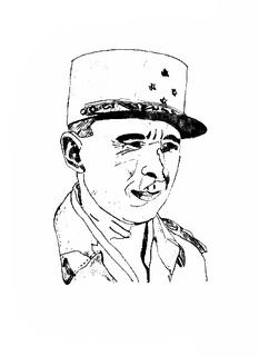 Edgard de Larminat French general