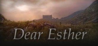 Dear Esther - Image: Dear Esther Logo