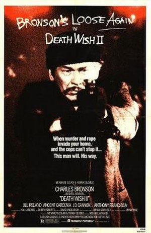 Death Wish II - Theatrical release poster