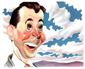 Dennis Day - Sam Berman's caricature of Dennis Day for a 1947 NBC promotional book