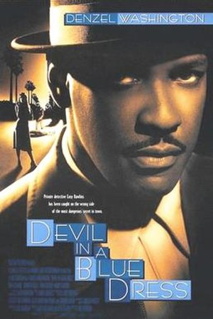 Devil in a Blue Dress (film) - Theatrical release poster