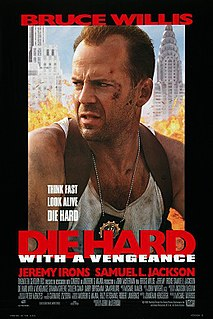 <i>Die Hard with a Vengeance</i> 1995 American action thriller film directed by John McTiernan
