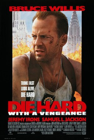 Die Hard with a Vengeance - Theatrical release poster