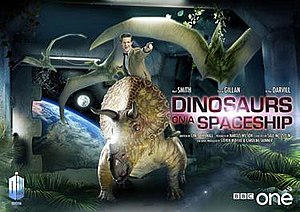 Dinosaurs on a Spaceship - Image: Dinosaurs on a Spaceship