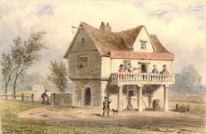 Dog and Duck, St George's Fields - Image: Dog and Duck tavern