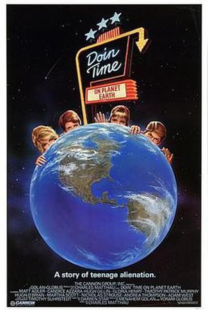 Doin' Time on Planet Earth - Theatrical release poster