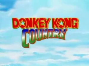 Donkey Kong Country (TV series) - Image: Donkey Title