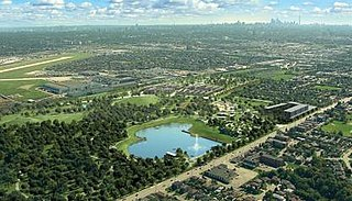 Downsview Park park in Toronto, Canada