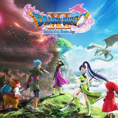 Picture of a game: Dragon Quest Xi
