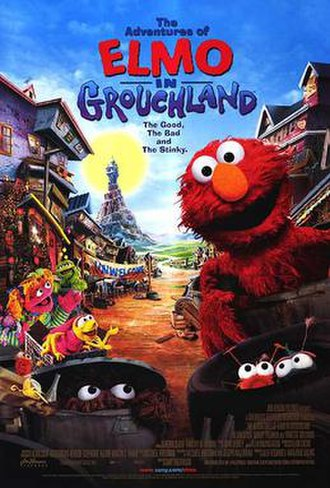 The Adventures of Elmo in Grouchland - Theatrical release poster
