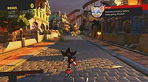 Sonic Forces - Episode Shadow features Shadow the Hedgehog as the playable character