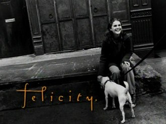 Felicity (TV series) - Title screen used for the first two seasons
