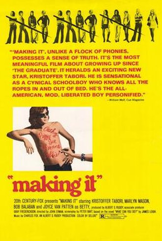 Making It (film) - Theatrical release poster