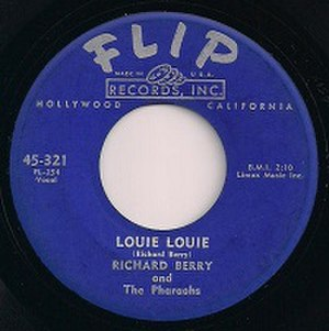 Louie Louie - Image: Flip 321 Label