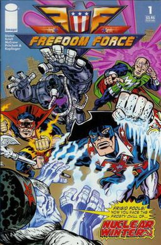 Freedom Force (2002 video game) - Cover of the first issue