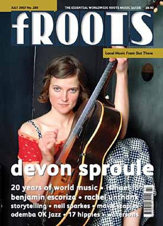 FRoots - fRoots issue 289, cover-dated July 2007