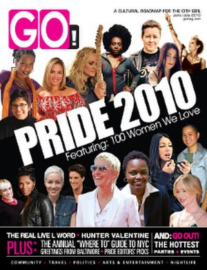 GO (American magazine) - June/July 2010 cover