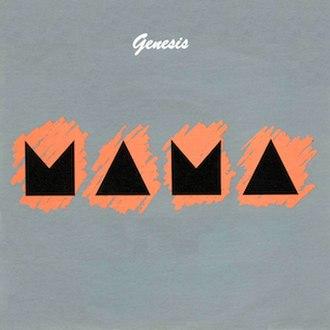 Mama (Genesis song) - Image: Genesis Mama (Single Cover)