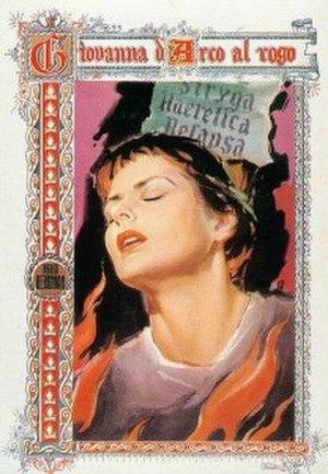 Giovanna d'Arco al rogo - Image: Giovanna d'Arco al rogo film poster