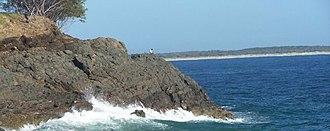 Bundjalung Nation Timeline - Goanna Headland meets the Sea.