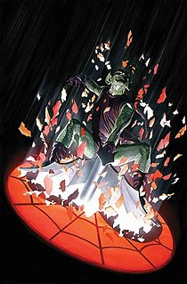 Green Goblin Supervillain appearing in Marvel Comics publications and related media