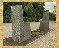 Hafez-Goethe memorial in Weimar.