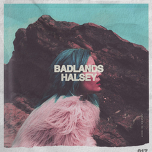 Image result for halsey badlands cover""