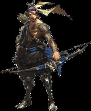 Hanzo (Overwatch) - Image: Hanzo Overwatch