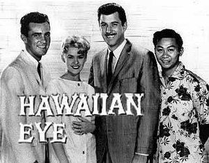 Hawaiian Eye - Robert Conrad, Connie Stevens, Anthony Eisley, and Poncie Ponce in Hawaiian Eye