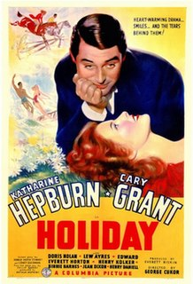 <i>Holiday</i> (1938 film) 1938 film by George Cukor