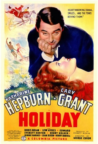 Holiday (1938 film) - Theatrical release poster