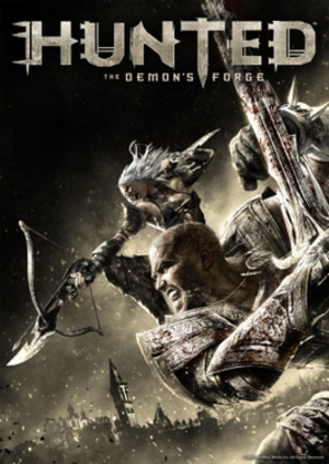 Hunted: The Demon's Forge - Image: Hunted the Demons Forge cover