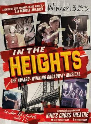In the Heights - Poster for the West End production