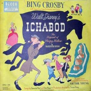 Ichabod – The Legend of Sleepy Hollow - Image: Ichabod The Legend of Sleepy Hollow (Decca album) cover
