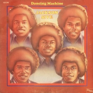 Dancing Machine (album) - Image: J5 dancing machine lp
