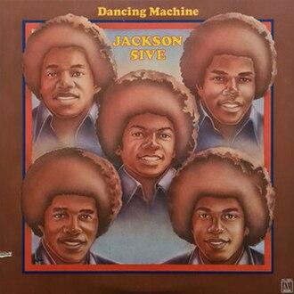 Dancing Machine (album) - Image: J5 dancing machine lp