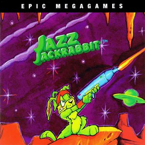 Jazz Jackrabbit (1994 video game) - Image: Jazz cover
