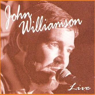 Singing in the Suburbs - Image: John Williamson Live (1996)