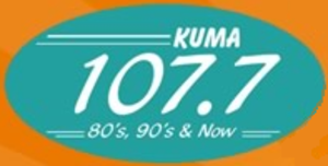 KWVN-FM - Logo as KUMA-FM