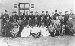 Kemna concentration camp - Staff of SA guards at Kemna, ca. November 1933