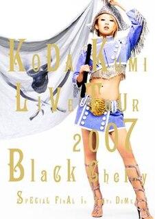 <i>Live Tour 2007: Black Cherry</i> 2008 video by Koda Kumi