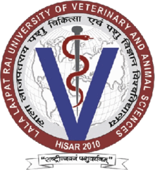 Image result for Lala Lajpat Rai University of Veterinary and Animal Sciences (LUVAS) logo