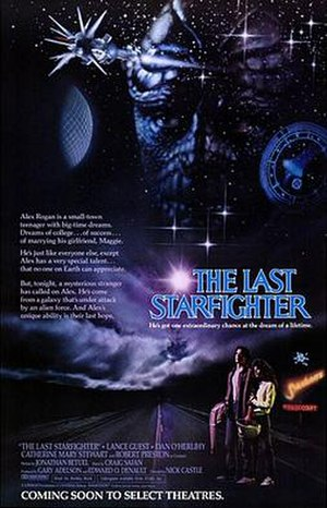 The Last Starfighter - Theatrical release poster