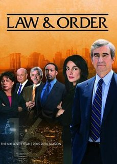 <i>Law & Order</i> (season 16) season of television series