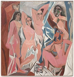 Picassos African Period Painting series by Pablo Picasso