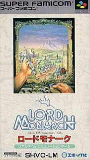 <i>Lord Monarch</i> video game