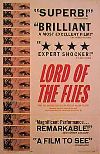 Lord of the Flies (1963 film) - Theatrical release poster